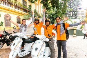 Take a guided tour of Phnom Penh - Vespa Adventures