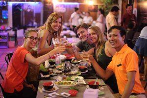 Take a guided tour of Phnom Penh - Vespa Adventures - Dinner