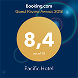 Pacific Hotel Phnom Penh Booking.com Award
